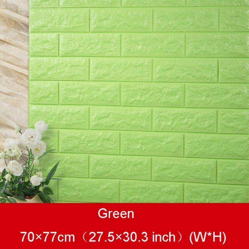 SPYika 3D Brick Pattern Wallpaper Bedroom Living Room Modern Wall Background