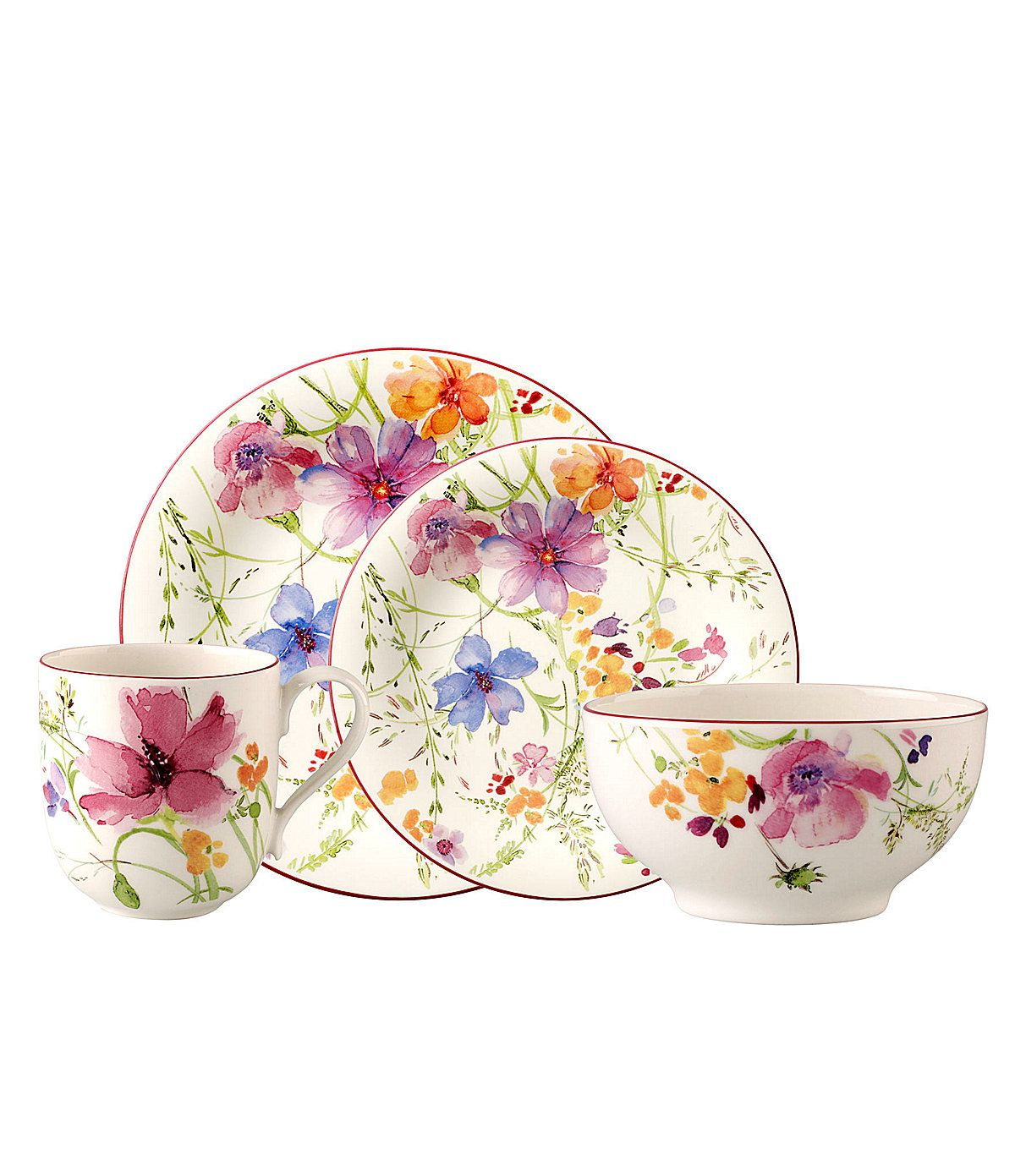 villeroy boch mariefleur dinnerware dinnerware dish sets pinterest. Black Bedroom Furniture Sets. Home Design Ideas