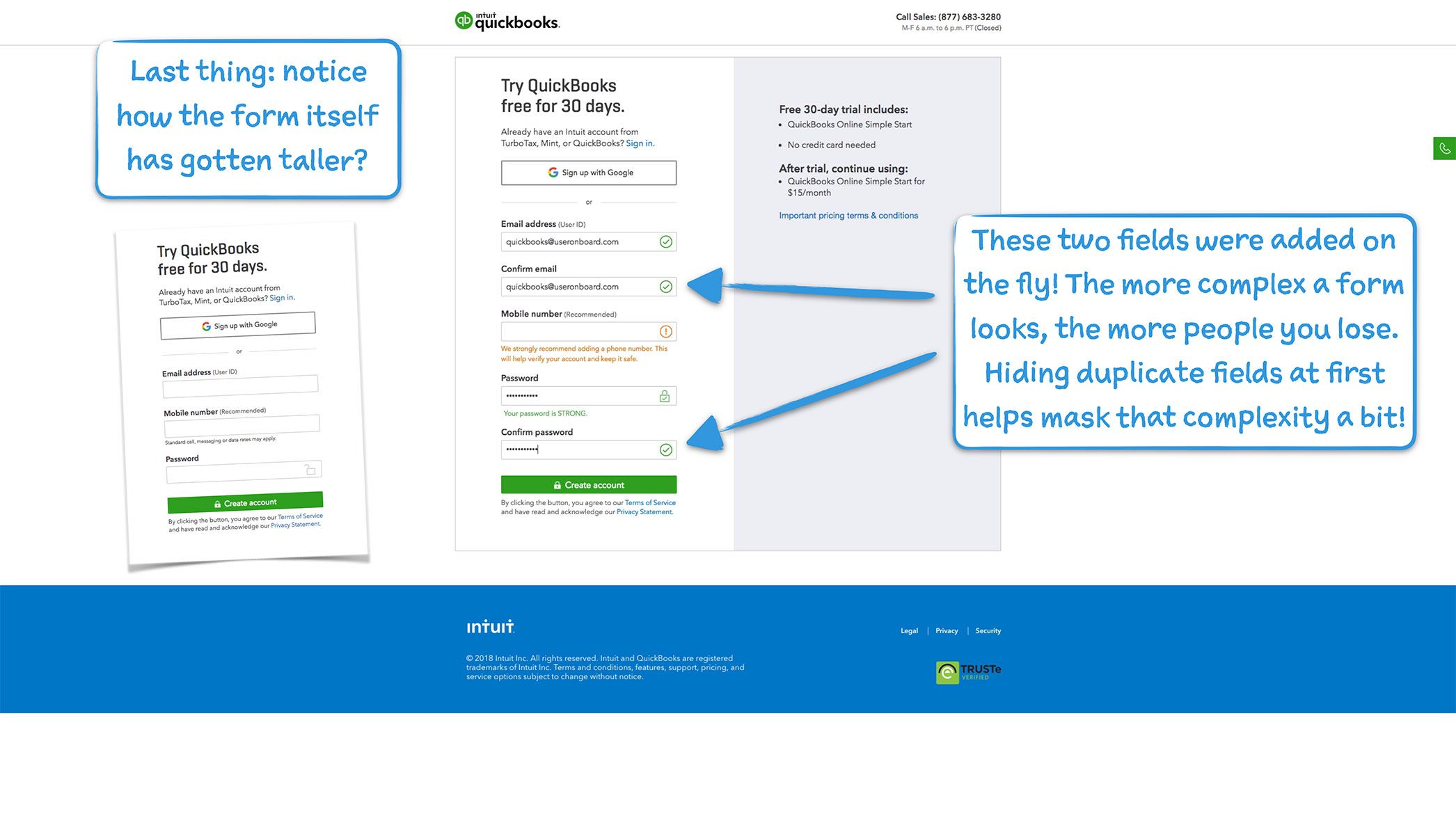 How QuickBooks Onboards New Users User Onboarding