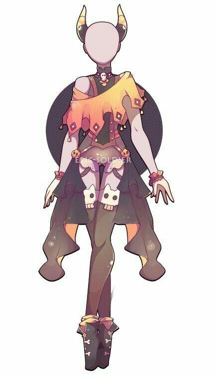 Hierarchy In Industrial Design Design For Anime Character Dress Anime Character Design Anime Outfits Fantasy Clothing