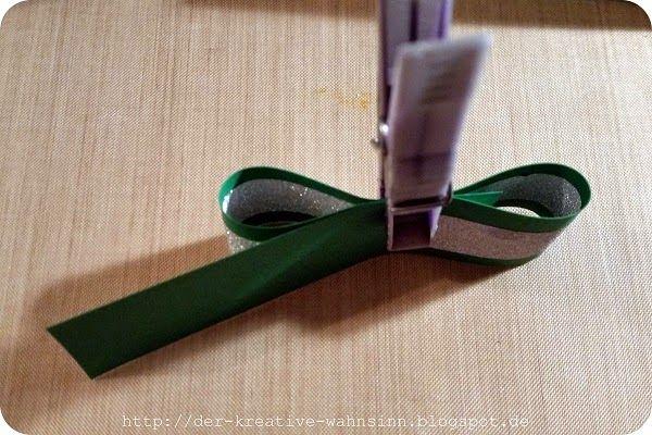 Der kreative Wahnsinn: Küsschen Verpackung: Kleeblatt #kleeblattbasteln