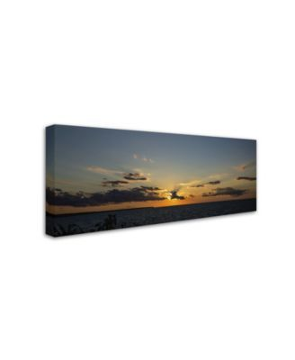 Kurt Shaffer Sunset Horizon Canvas Art 10 X 24 Multi Artist Canvas Canvas Art Mattress Furniture