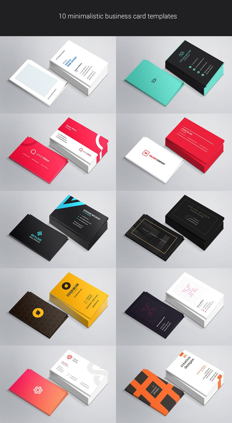 10 Free Business Card Mockup PSDs | Business cards, Business and ...