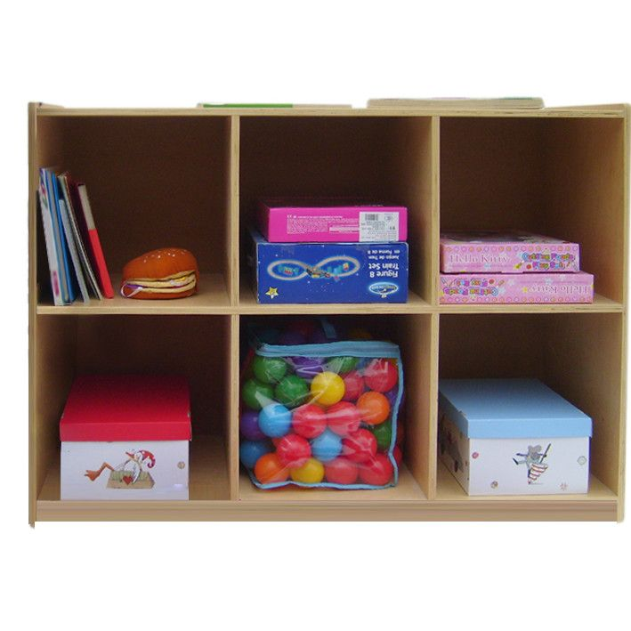A Child Supply 6 Compartment Cubby Cubby Storage Kids Supplies Cubbies