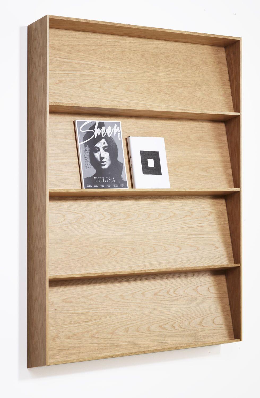 Wall Mounted Brochure Display Racks 58467 5481905 합판 디자인 합판 벽 책꽃이 디자인
