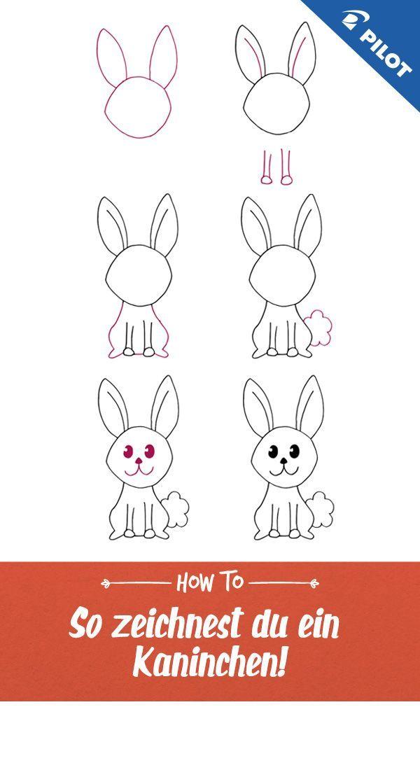 Tiere zeichnen-Bild von bleib-gestreift in 2020 | Einfache ...