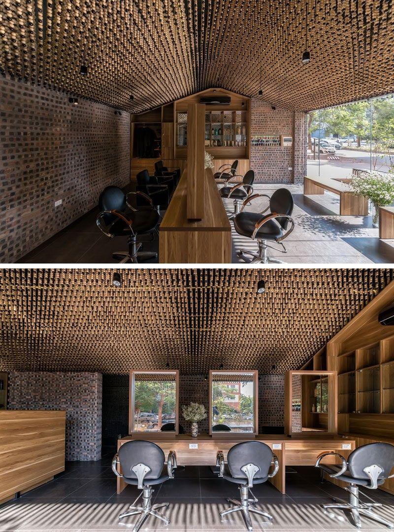 Decke Design Ideen 200.000 Holz Perlen decken die Decke In diesem ...