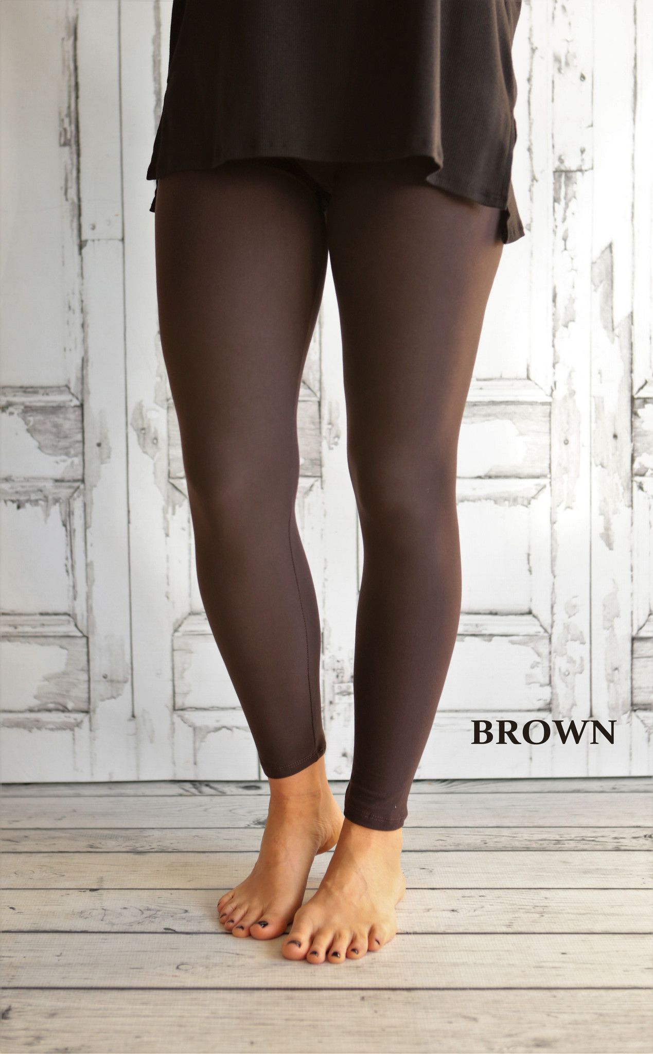 Super Soft Solid Leggings (available in Reg or Curvy)