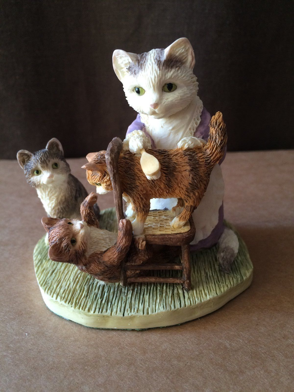 Baby Kittens Beatrix Potter Border Fine Arts Mrs Tabitha Twichett
