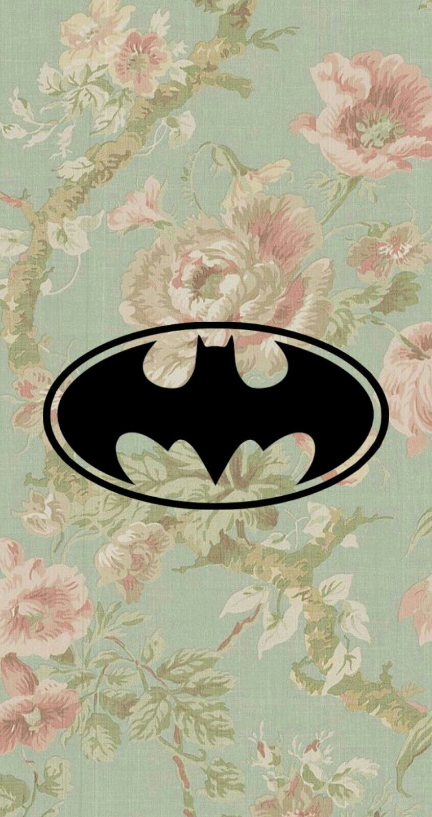 i'm batman! heuheu, um wallpaper que eu editei com a logo do batman