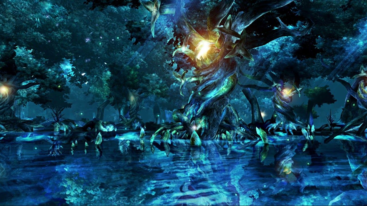 Animated Calm Before The Storm Final Fantasy X - Wallpaper ...