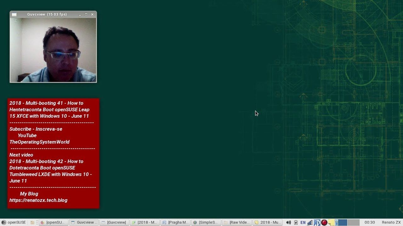 2018 - Multi-booting 41 - How to Hentetraconta Boot openSUSE