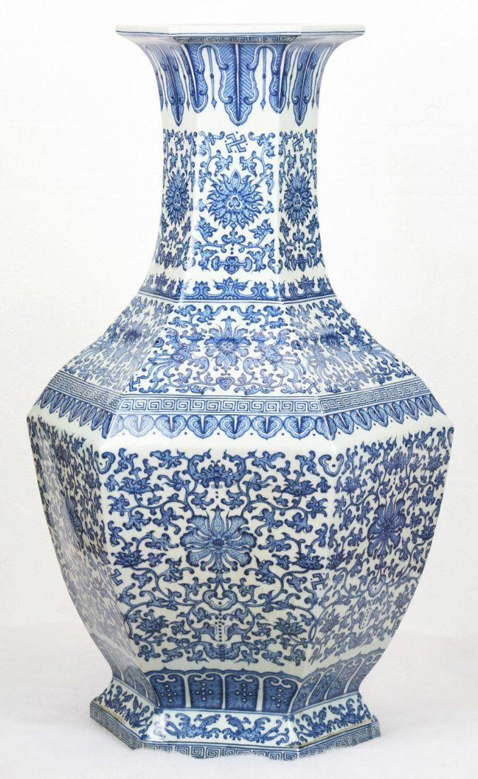 A Massive Chinese Antique Blue White Porcelain Vase On Pinterest