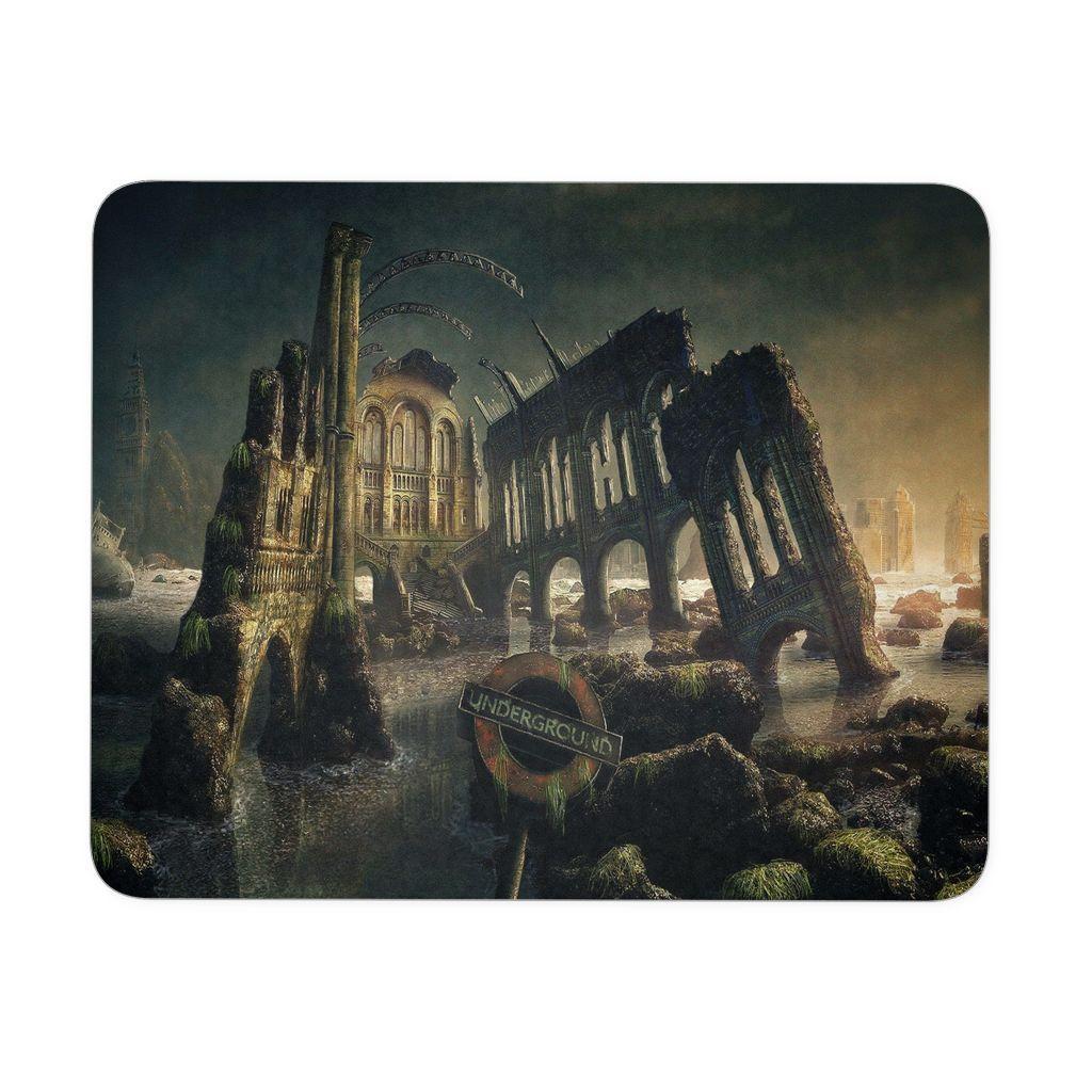 Dark Gothic City Mousepad