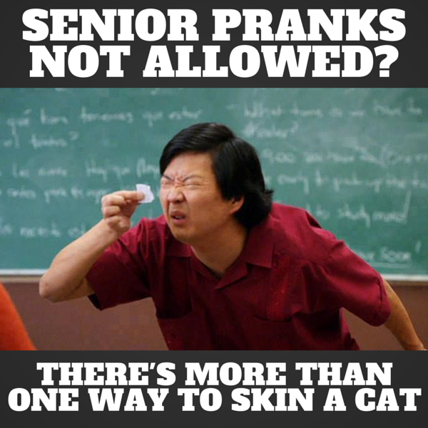 Error Log: 101 Best Senior Prank Ideas Brought To You By JokesByMail