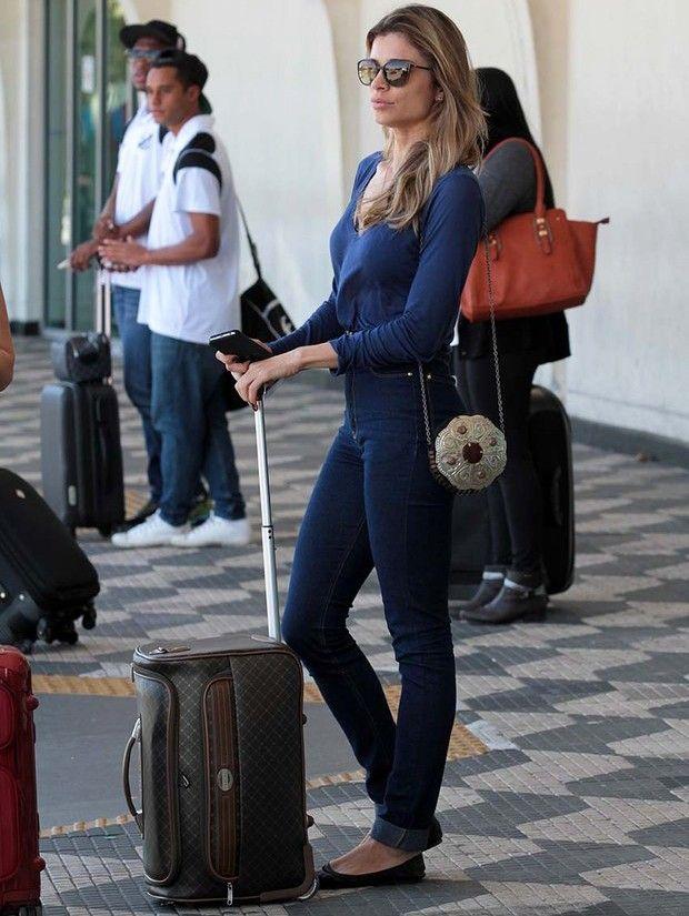 14e5faf2a 11 LOOKS DA GRAZI MASSAFERA POR AÍ - Fashionismo Jeans Para O Trabalho,  Estilo Básico