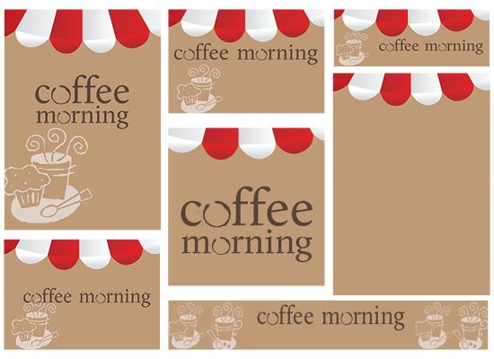 Coffee Morning Published Pta Templates And Poster Kits