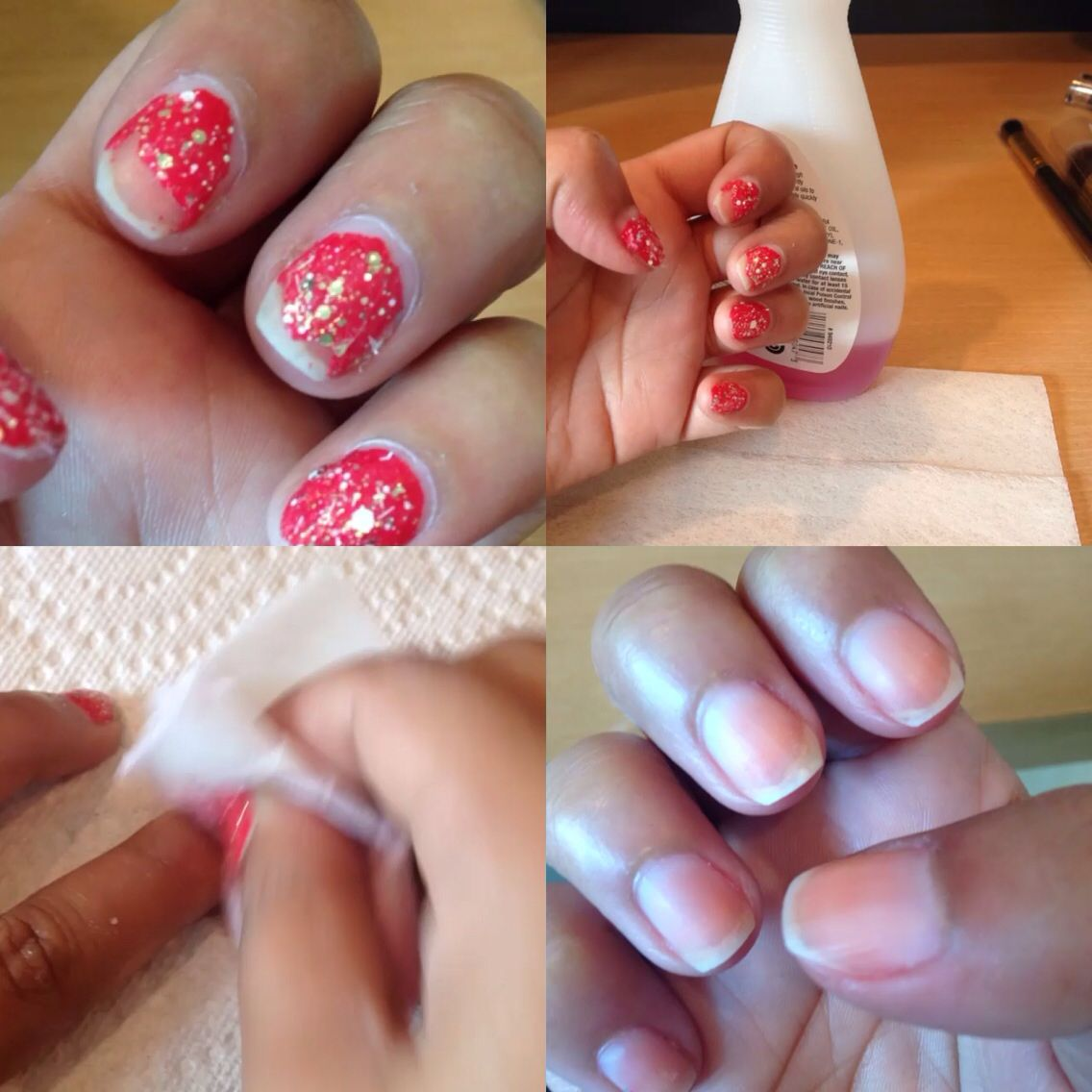 How do you get stubborn nail polish off? Use a dryer sheet
