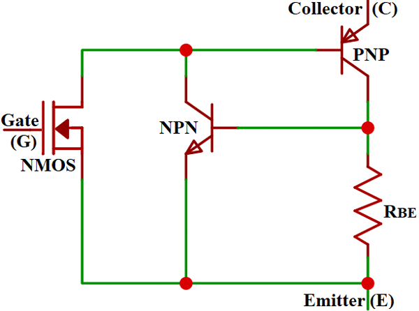 Igbt Internal Structure In 2020 Transistors Electronics Basics Switched Mode Power Supply