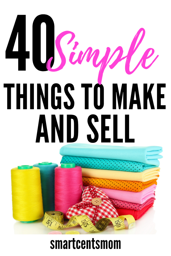 41 Easy Fabric Craft Ideas to Sell {2019} Things to sell