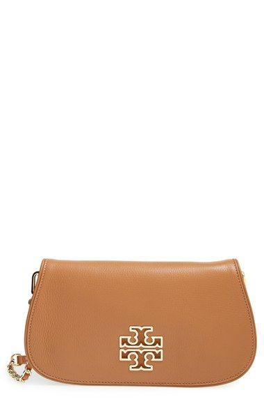 4fbcc7c05ff3 Tory Burch  Britten  Leather Clutch available at  Nordstrom