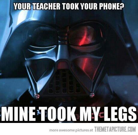 Problems With Teachers Star Wars Humor Star Wars Memes Star Wars Jokes