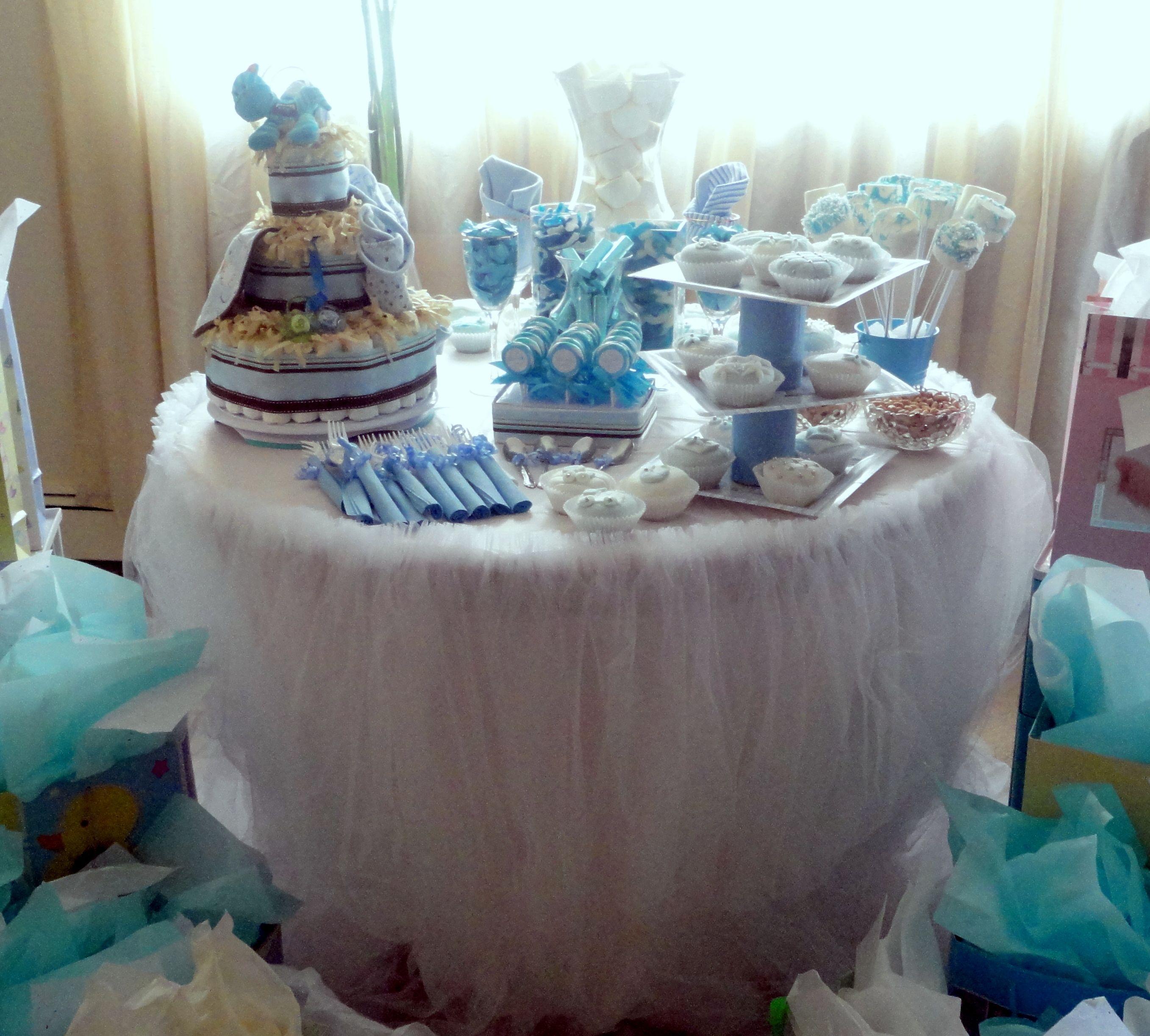 Baby Shower Decoration Baby Shower Bluebaby Shower Decorationscandy