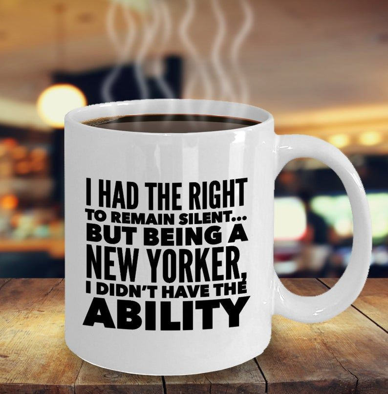 Funny new yorker mug new york gifts nyc mug nyc pride i