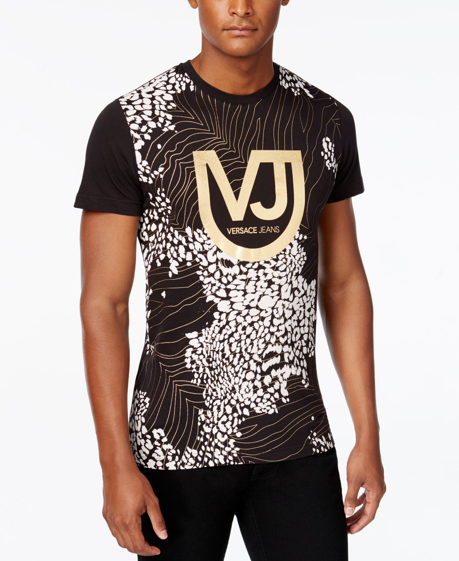 6d5de61af6c3 Versace Jeans Men s Graphic-Print T-Shirt