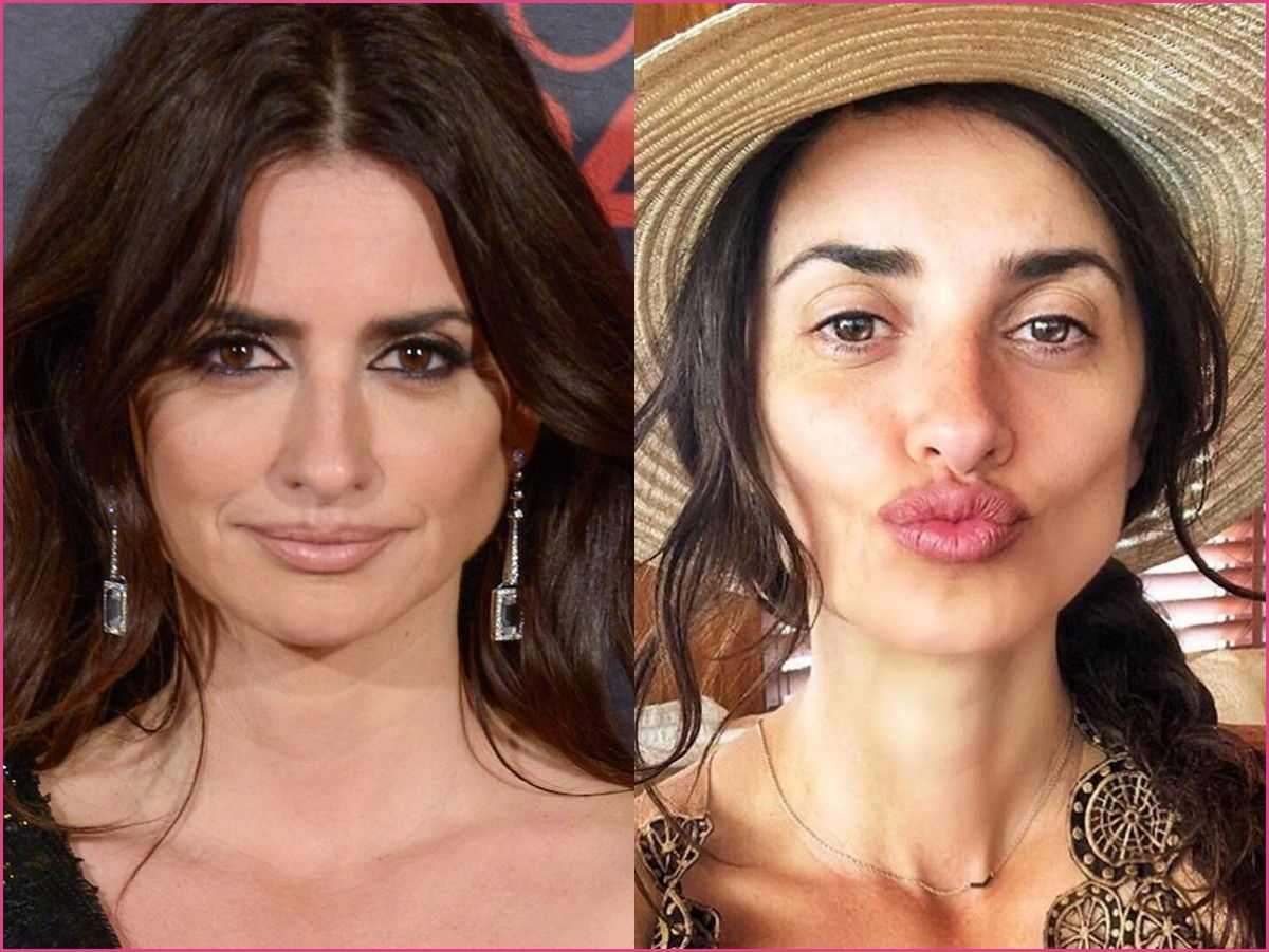 women without make-up #penelopecruz #celebrities #celebrity