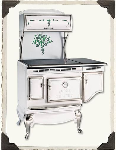Victorian Stoveworks Blueberry Stove In 2019 Victorian