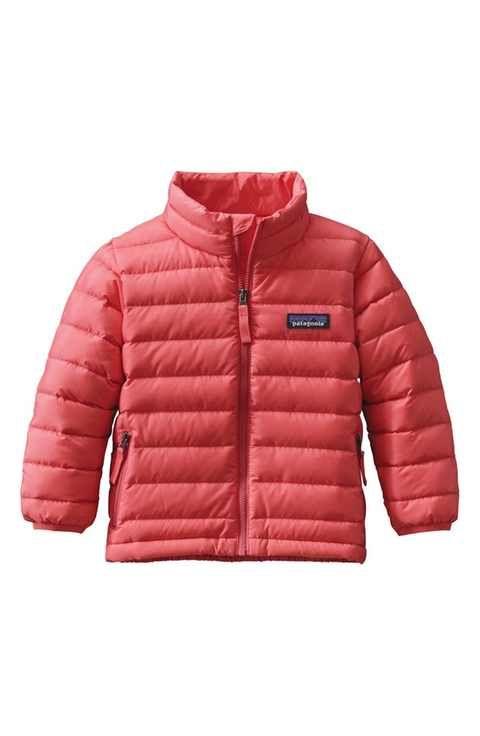 Patagonia Water Resistant Down Sweater Jacket Toddler Girls