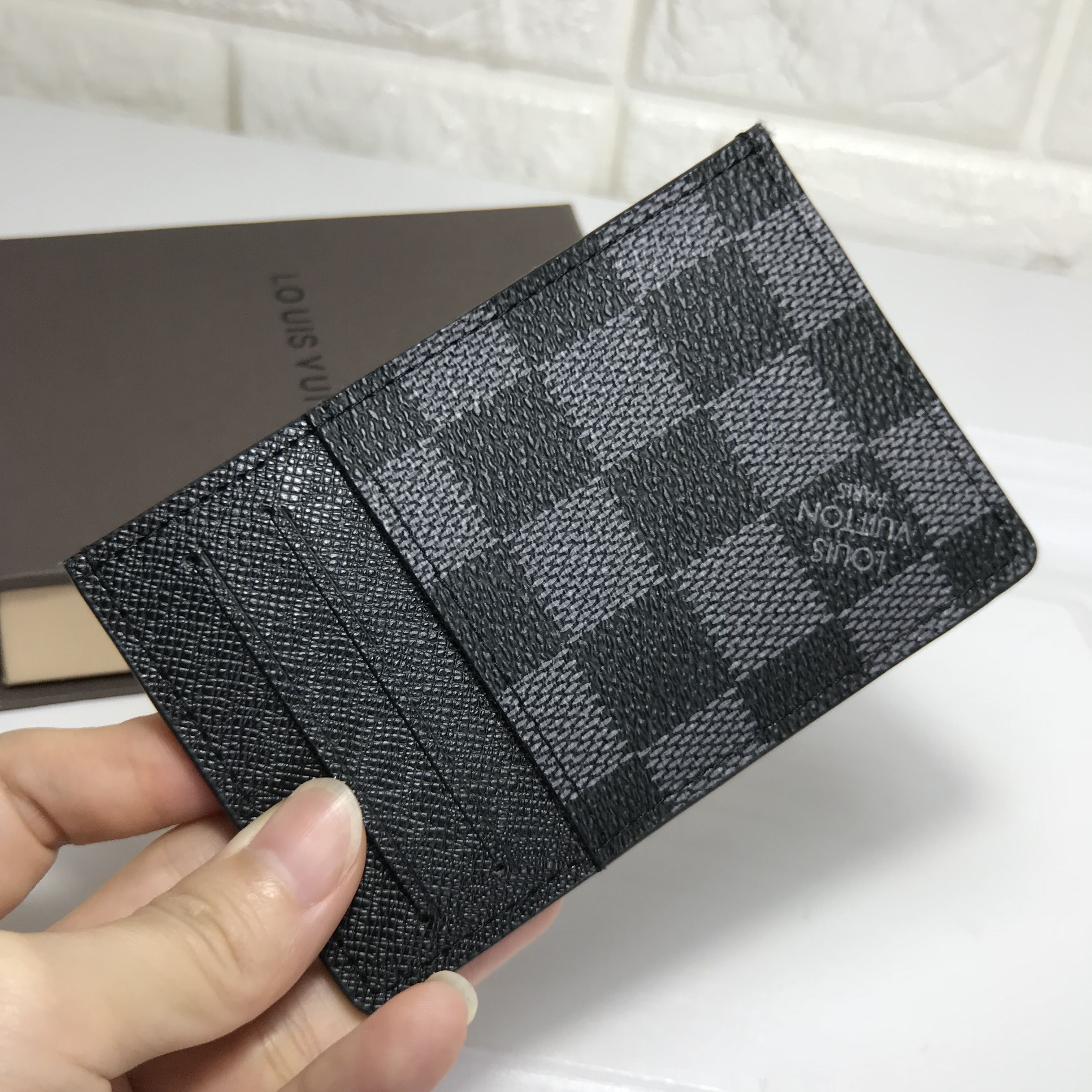 Louis Vuitton Pocket Organiser 가죽공ㅇㅖ 가죽공예