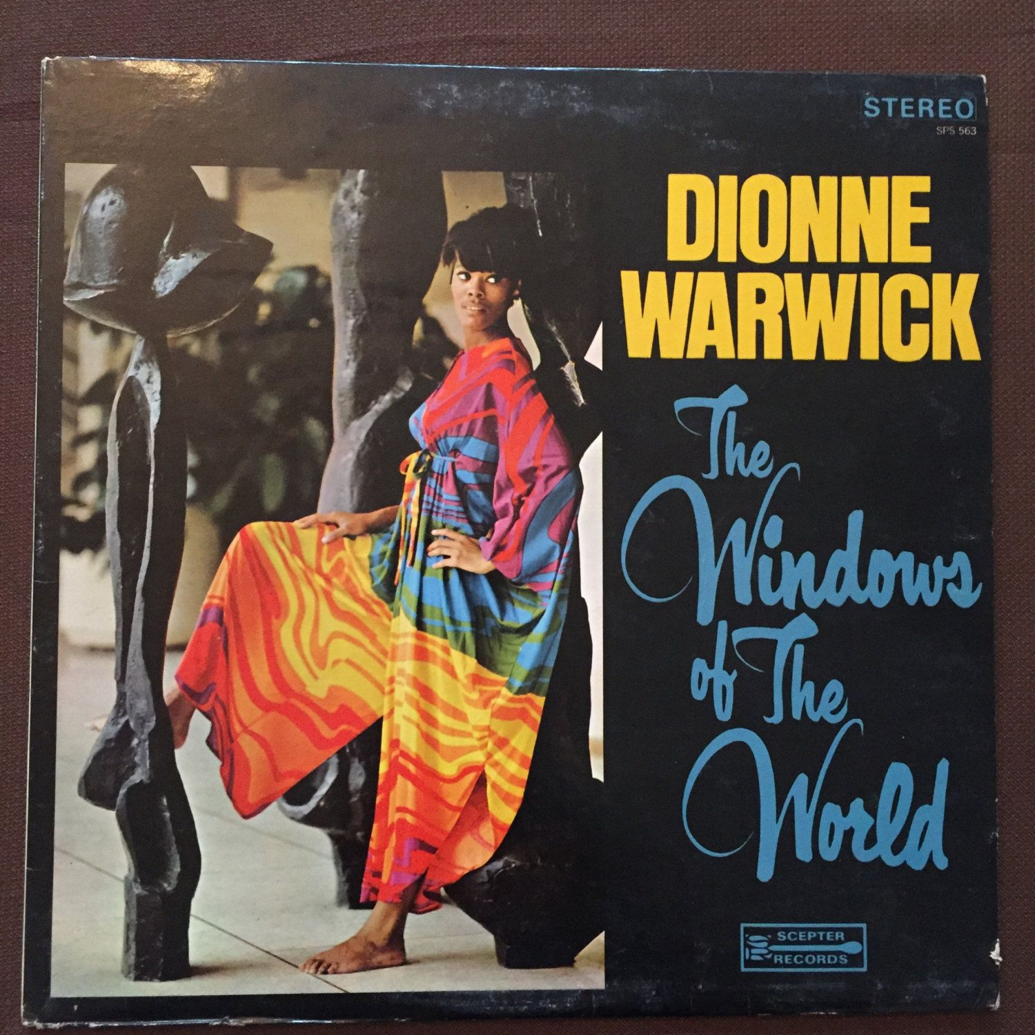 The Windows Of The World Dionne Warwick Scepter Records Sps 563 1967 Vintage Vinyl Record Musica