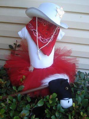 Custom Cowgirl Tutu Halloween Costume Made to Order. $35.00, via Etsy.