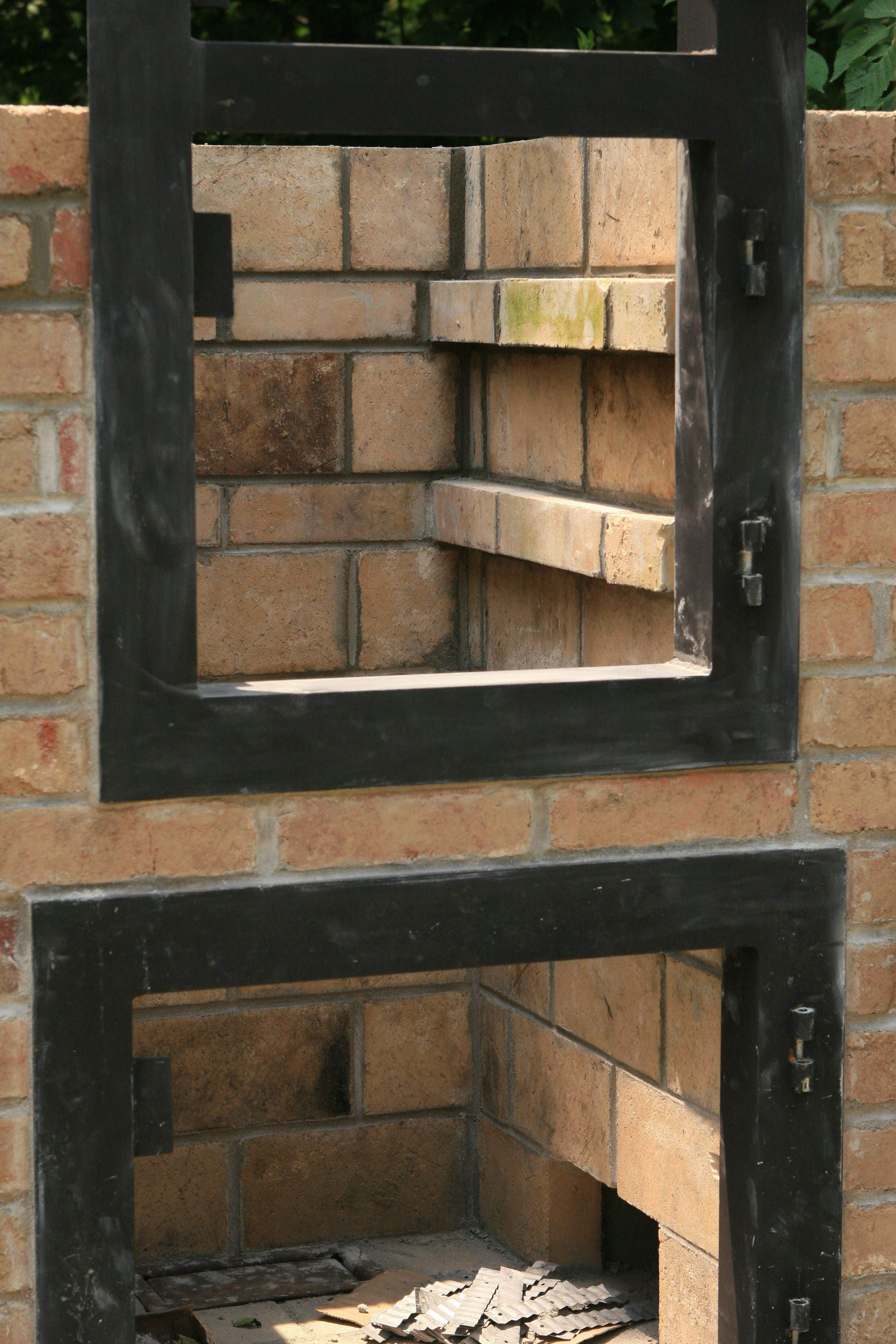 How To Build A Brick Smoker For The House Pinterest