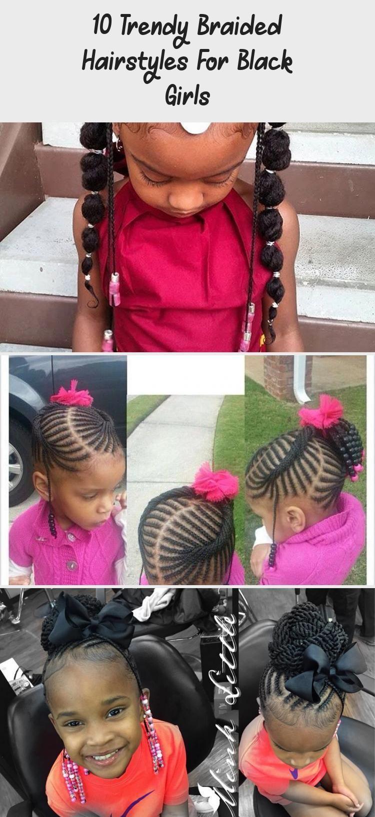 Tätowieren   18 trendige geflochtene Frisuren für schwarze Mädchen ...
