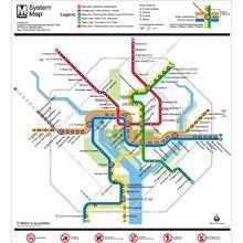 Silver Line Dc Map.Washington Dc Metro Map Silver Line Washington Dc Metro Gift Store