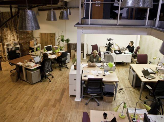 Grand bureau avec mezzanine
