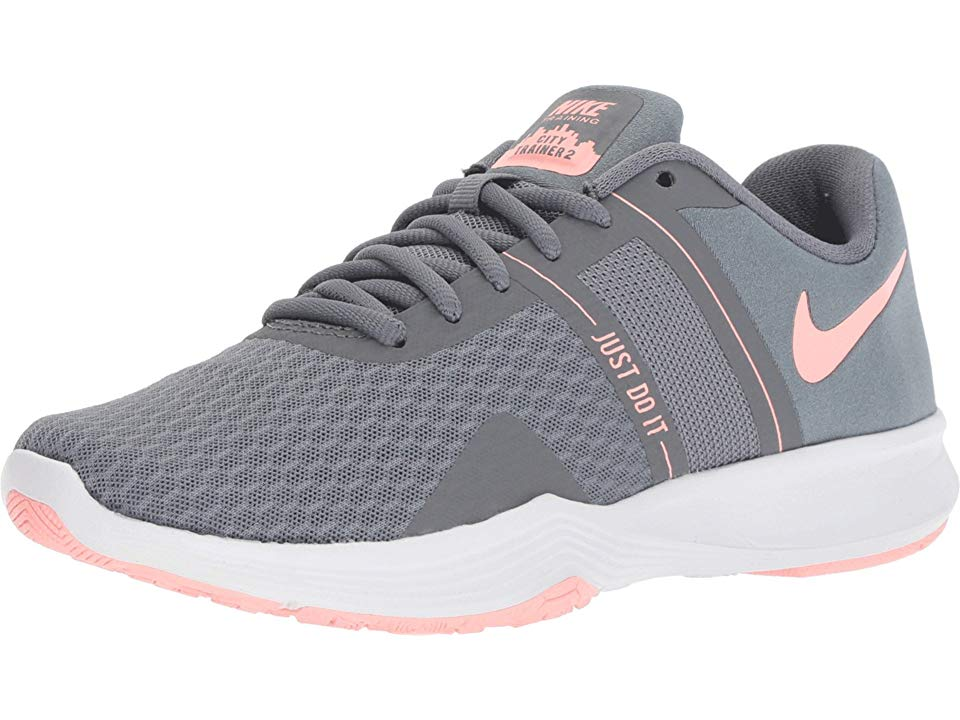 279cdc58e7f0db Nike City Trainer 2 Women s Cross Training Shoes Cool Grey Oracle Pink Wolf  Grey