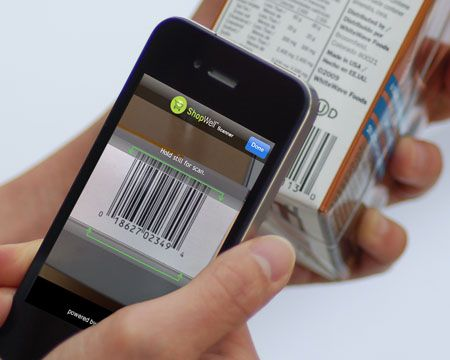 WELL •Scan products to get personalized food