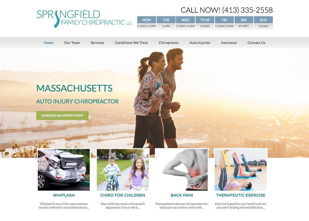 Springfield Family Chiropractic Llc Website Designed By Chiropractic Orthopedics Chiropractors