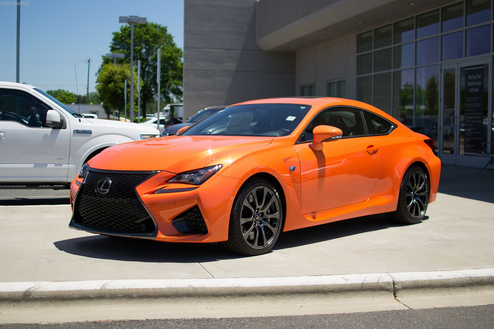 LexusRCF finished in Molten Pearl. Lexus cars, Vehicles