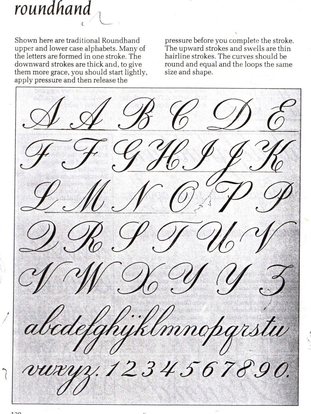 Resultado de imagem para tipos de caligrafia   estudo   Pinterest