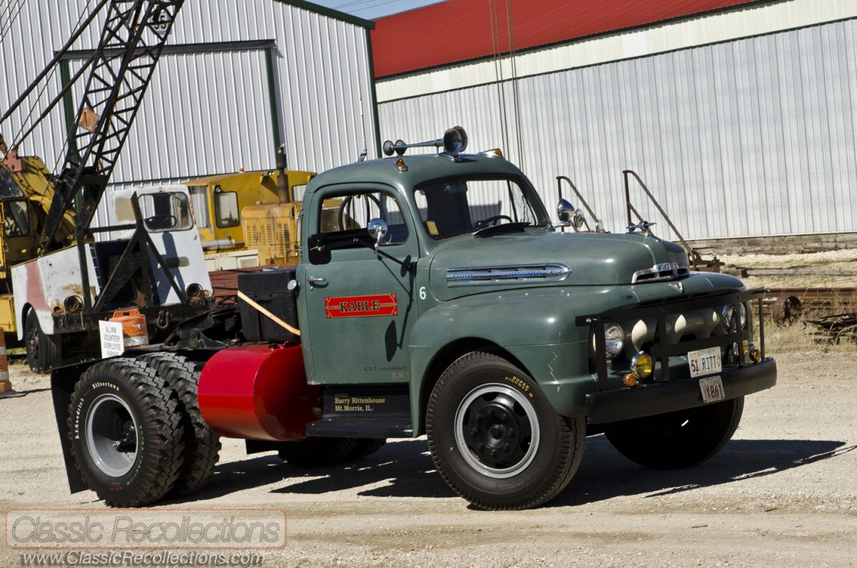Feature 1951 ford f7 big job classic recollections