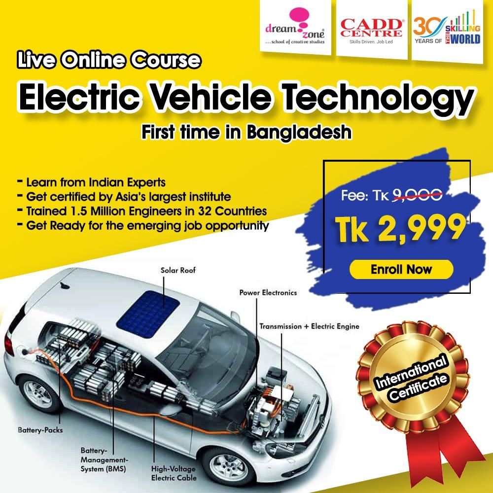 Live Online Course Electric Vehicle Technology Online Courses Technology Courses