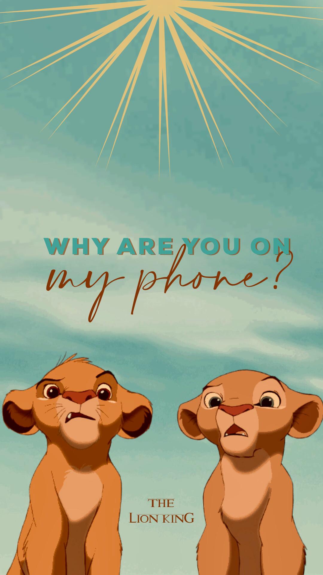 Lion King Wallpaper Cartoon Wallpaper Iphone Funny Phone Wallpaper Cute Disney Wallpaper