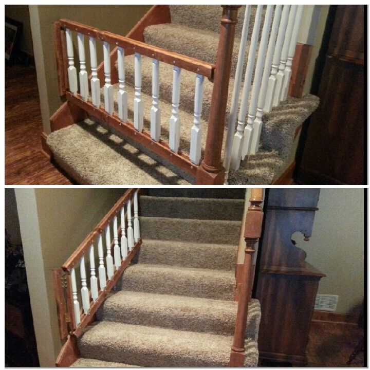 Babby Gate Dog Gate That Can Be Opened Up The Stairs