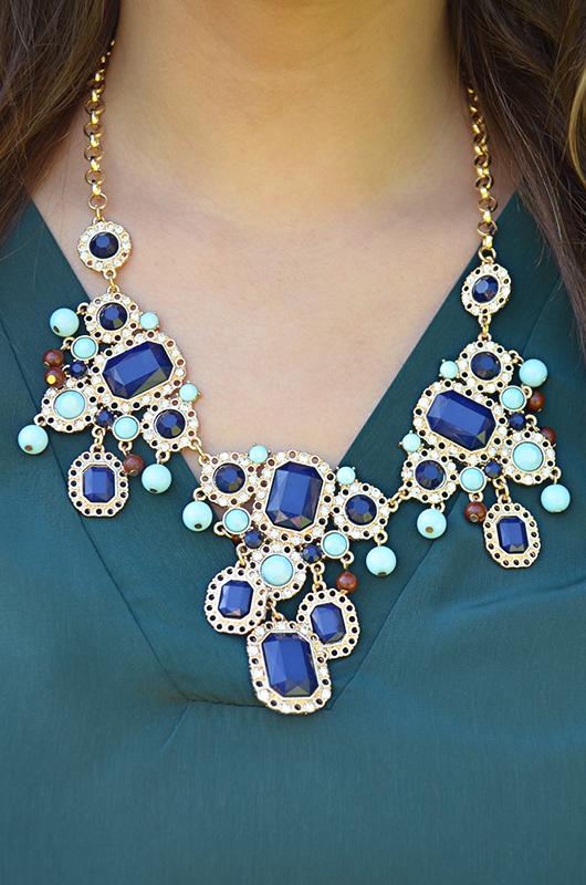 Starry Skyline Necklace: Multi