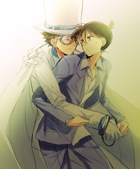 Kaito Kid and Shinichi
